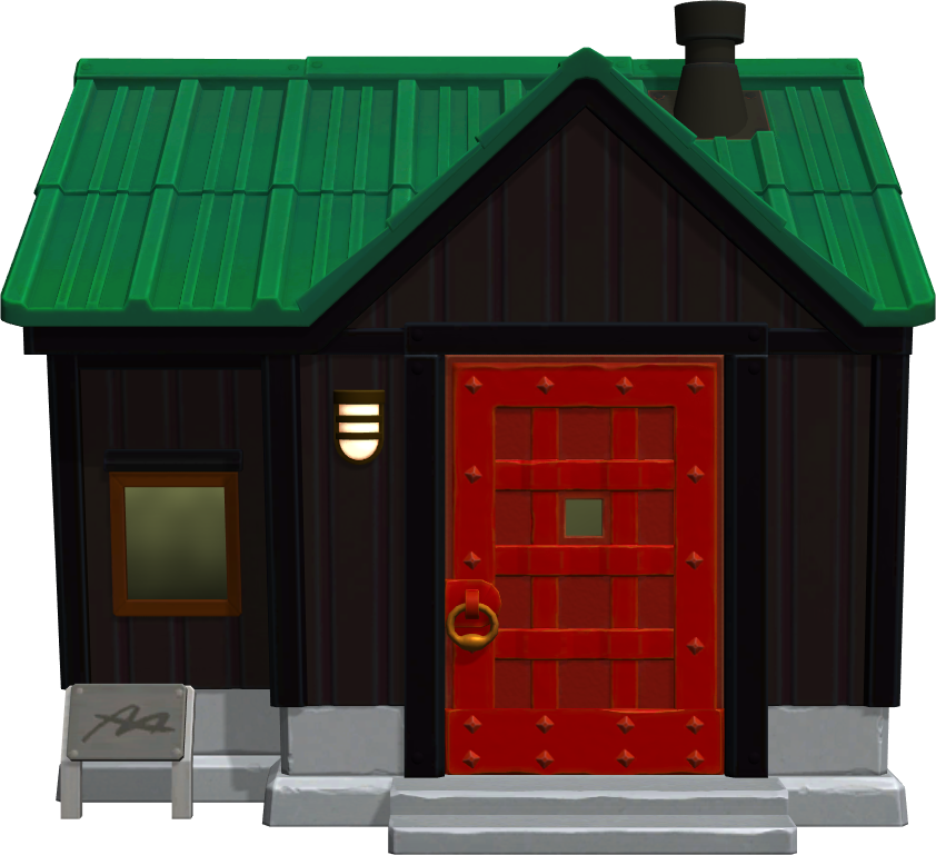 Exterior of Rocco's house in Animal Crossing: New Horizons