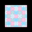Purple Puzzle Flooring