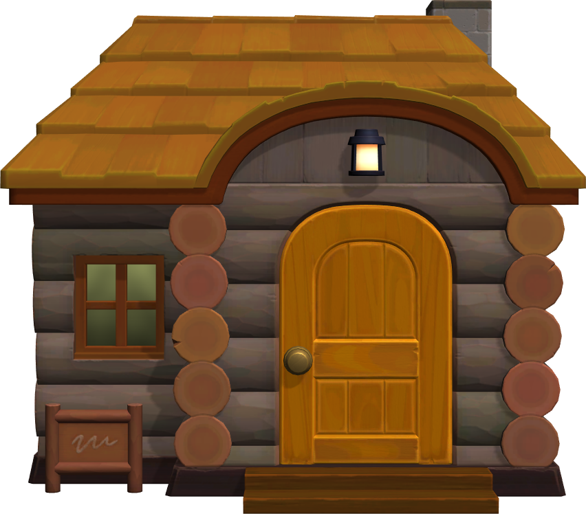 Exterior of Sly's house in Animal Crossing: New Horizons