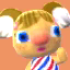 Alice's picture in Animal Crossing: New Leaf