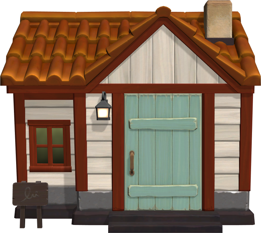 Exterior of Carmen's house in Animal Crossing: New Horizons