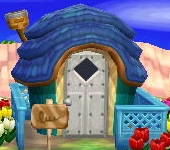Exterior of Puck's house in Animal Crossing: New Leaf