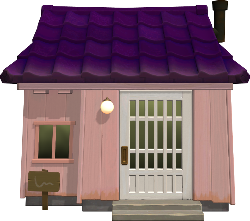 Exterior of Snooty (villager)'s house in Animal Crossing: New Horizons