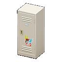 Upright Locker (White - Pop) NH Icon.png