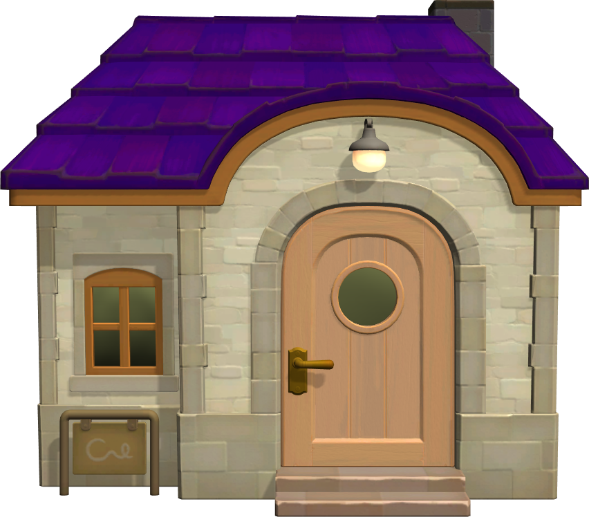 Exterior of Flo's house in Animal Crossing: New Horizons