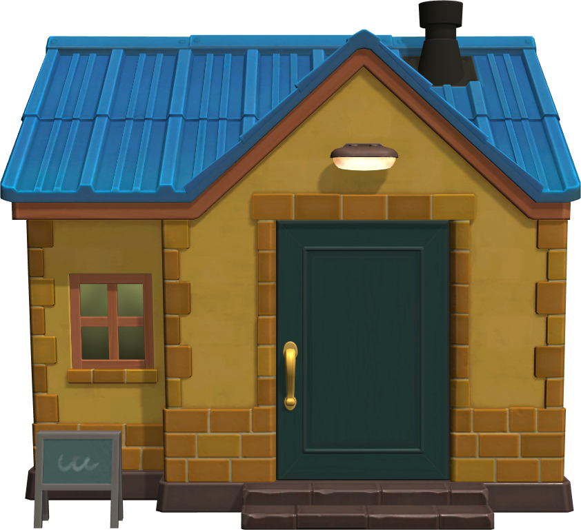 Exterior of Wendy's house in Animal Crossing: New Horizons