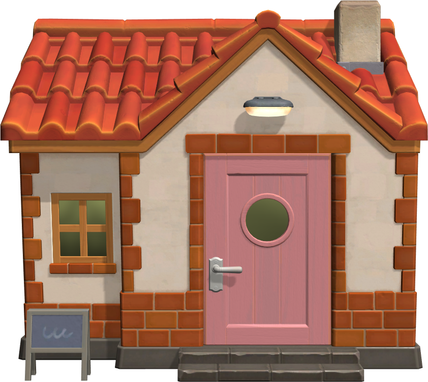 Exterior of Lucy's house in Animal Crossing: New Horizons
