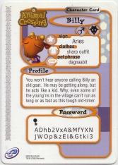 Animal Crossing-e 4-235 (Billy - Back).jpg