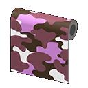 Purple Camo Wall