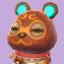 Clay's picture in Animal Crossing: New Leaf