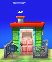 Elise's house exterior