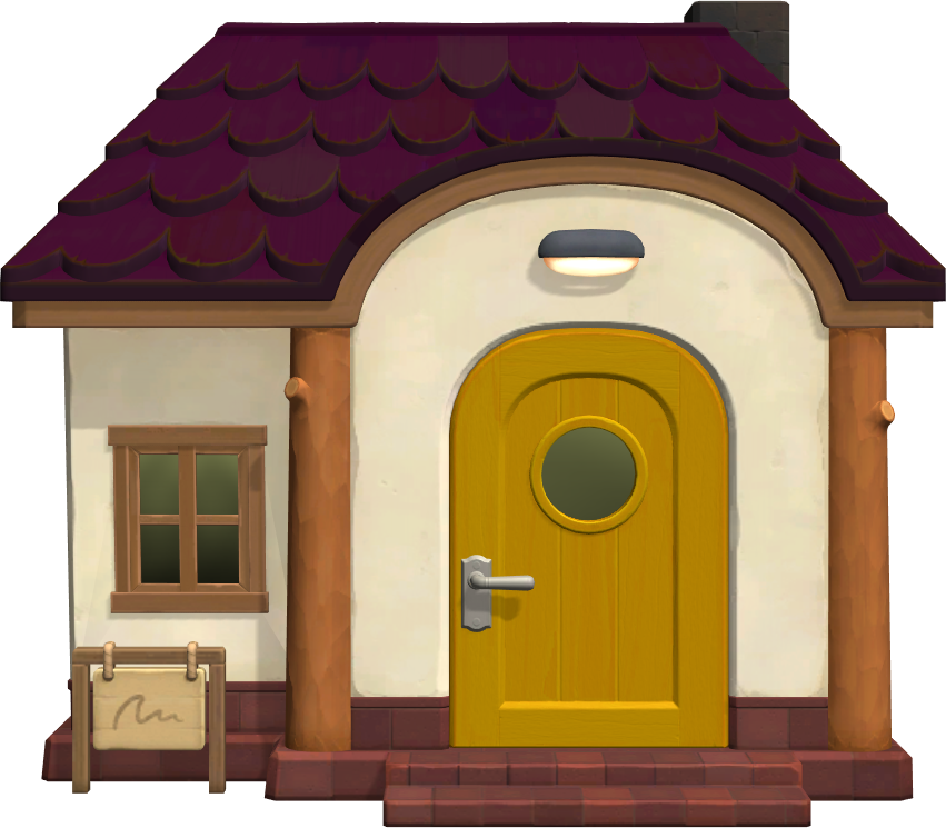 Exterior of Paolo's house in Animal Crossing: New Horizons