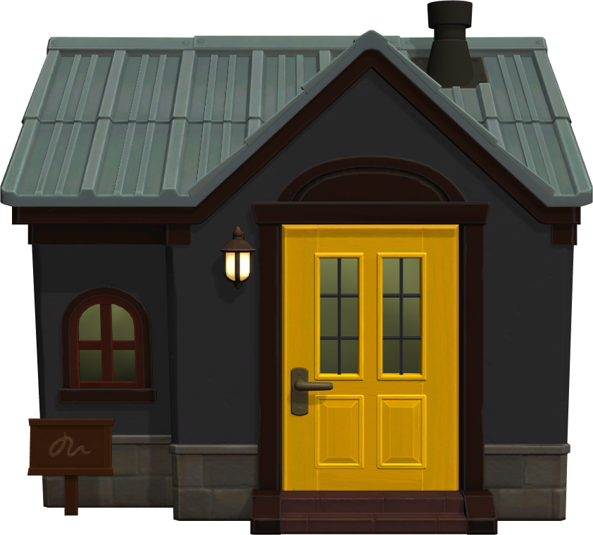 Exterior of Raddle's house in Animal Crossing: New Horizons