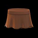 Pleather Flare Skirt