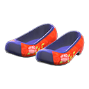 Traditional Flower Shoes