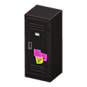Upright Locker (Black - Notes) NH Icon.png