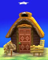 Clay's house exterior