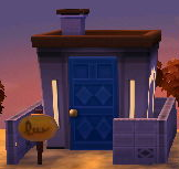 Exterior of Moose's house in Animal Crossing: New Leaf