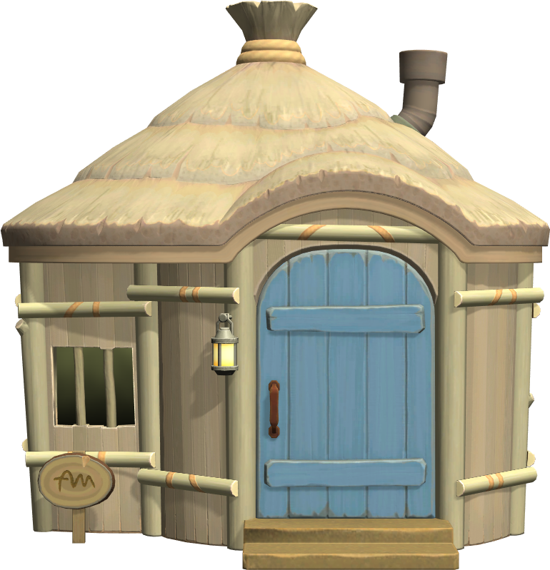Exterior of Hans's house in Animal Crossing: New Horizons