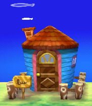 Exterior of Carrie's house in Animal Crossing: New Leaf