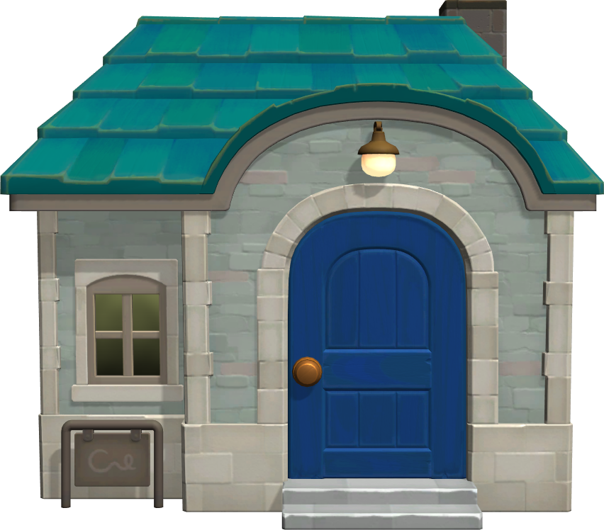 Exterior of Julia's house in Animal Crossing: New Horizons