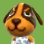 Butch's picture in Animal Crossing: New Leaf