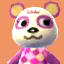 Pinky's picture in Animal Crossing: New Leaf