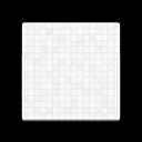 White Mosaic-Tile Flooring