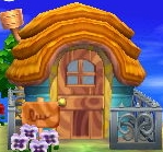 Exterior of Wendy's house in Animal Crossing: New Leaf