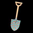 Printed-Design Shovel