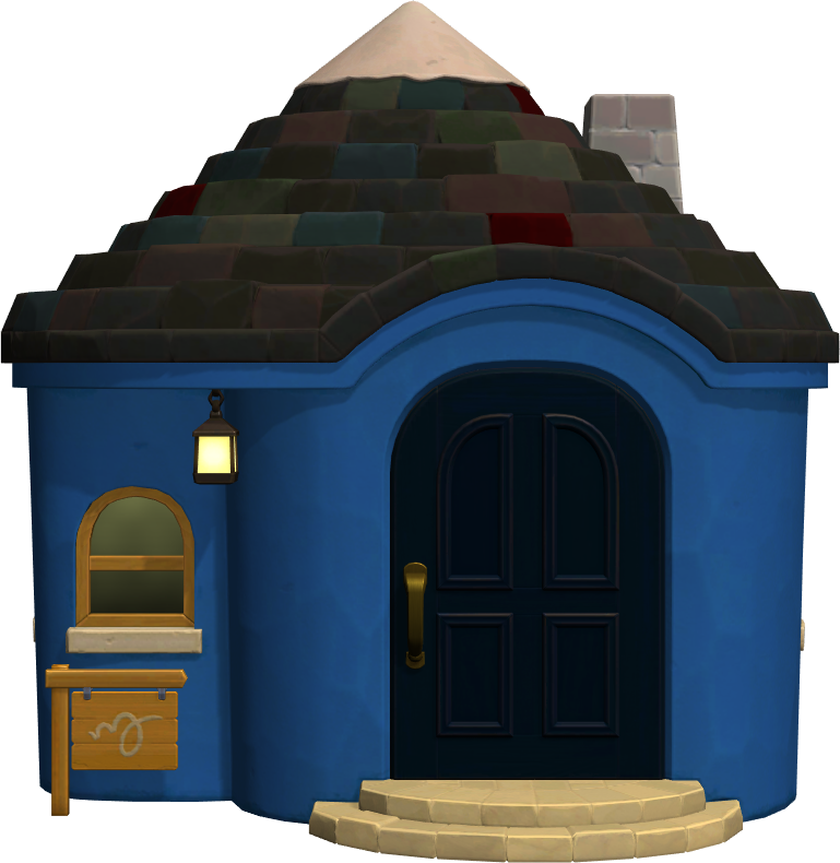 Exterior of Boris's house in Animal Crossing: New Horizons