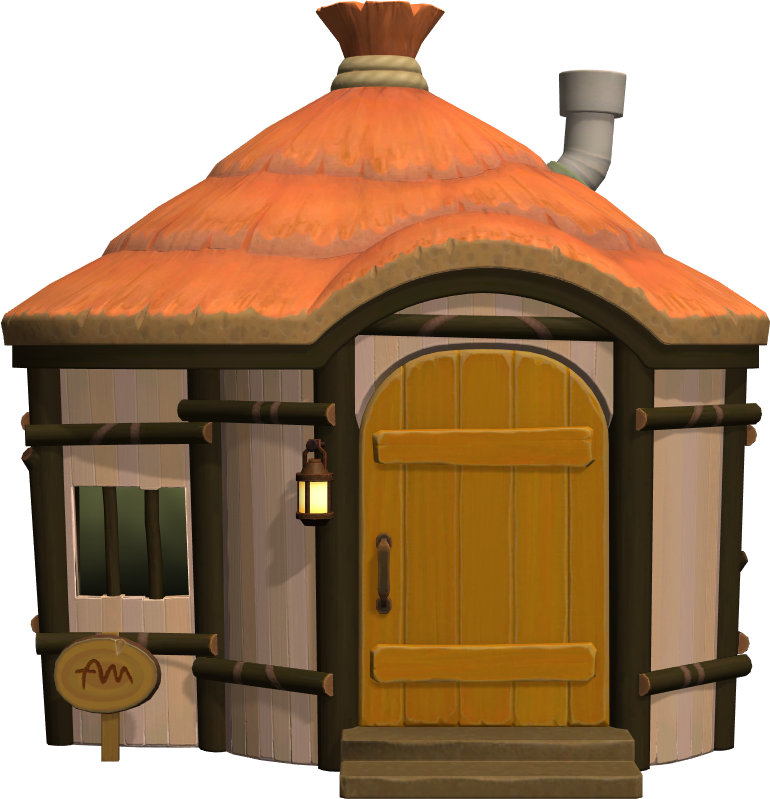 Exterior of Deirdre's house in Animal Crossing: New Horizons