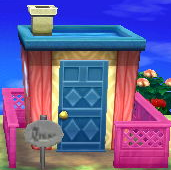 Naomi's house exterior