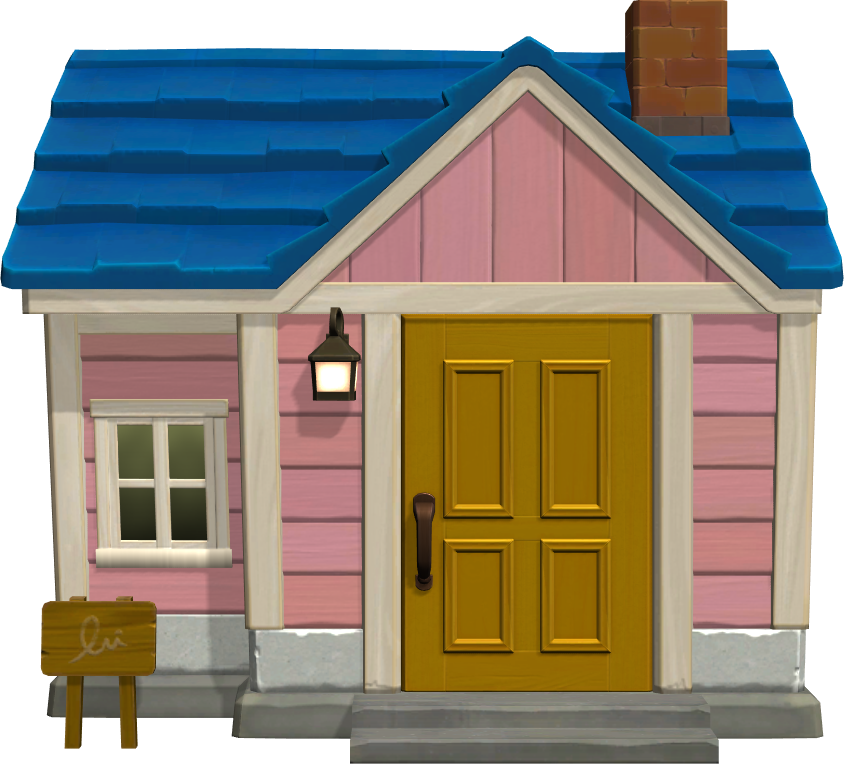 Exterior of Puck's house in Animal Crossing: New Horizons