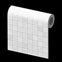 Monochromatic-Tile Wall