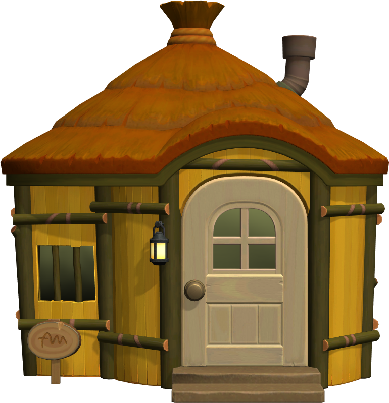 Exterior of Flip's house in Animal Crossing: New Horizons