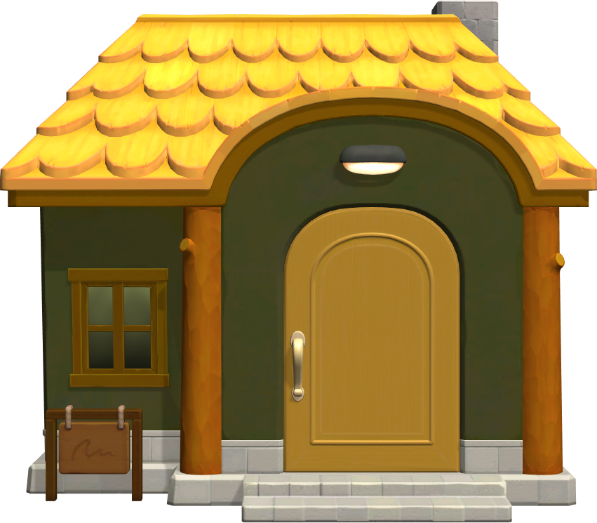 Exterior of Quillson's house in Animal Crossing: New Horizons