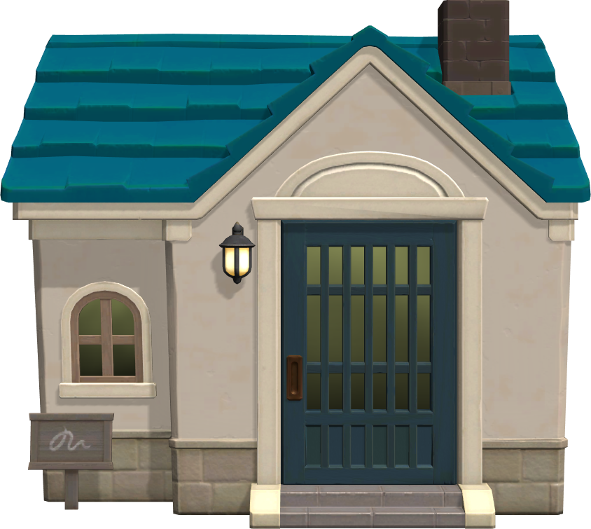 Exterior of Samson's house in Animal Crossing: New Horizons