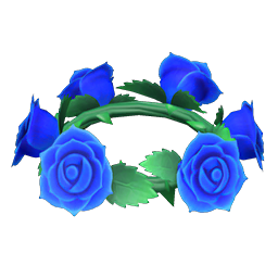 Blue Rose Crown New Horizons Animal Crossing Wiki Nookipedia