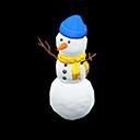 Three-Tiered Snowperson