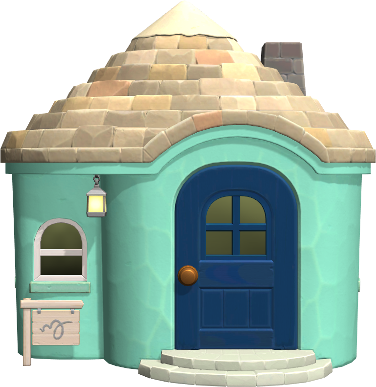 Exterior of Kody's house in Animal Crossing: New Horizons