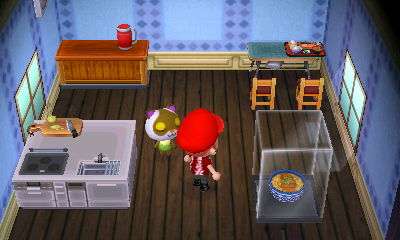 Interior of Sylvana's house in Animal Crossing: New Leaf