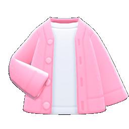 Cardigan-Shirt Combo (Pink) NH Icon.png