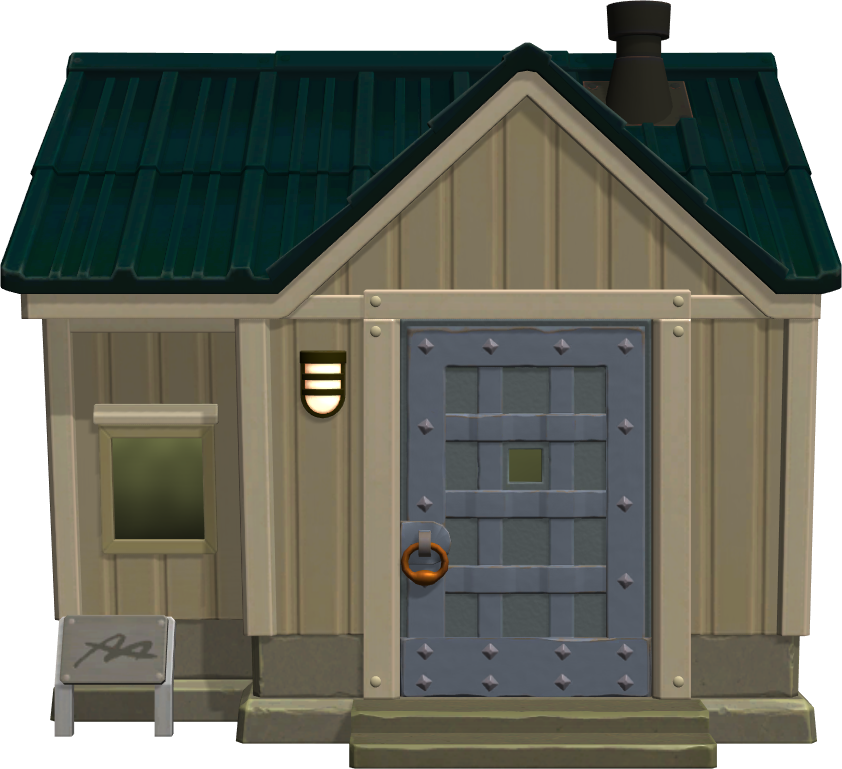 Exterior of Ribbot's house in Animal Crossing: New Horizons