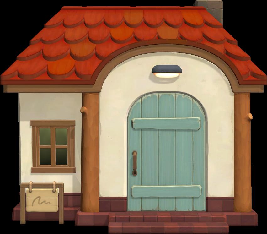 Exterior of Ursala's house in Animal Crossing: New Horizons