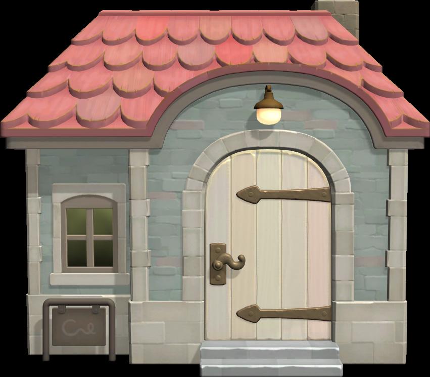 Exterior of Freya's house in Animal Crossing: New Horizons