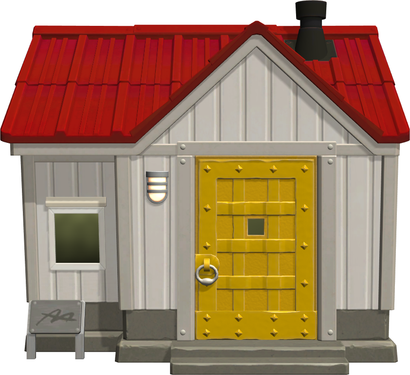 Exterior of Lucha's house in Animal Crossing: New Horizons