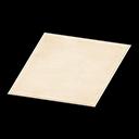 White Simple Medium Mat