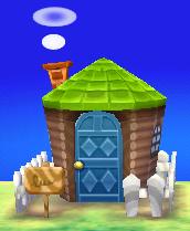 Claude's house exterior
