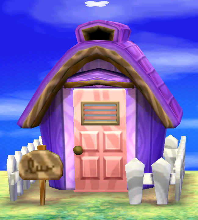 Exterior of Rhonda's house in Animal Crossing: New Leaf
